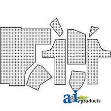 New Listingfoam Kit 4077 Fits Whiteoliverminneapolis Moline 2 135 2 155 2180