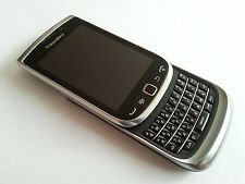 "BLACKBERRY TORCH 9810 TOP-8GB-GRAU-3,2""-EXTRAS-KEIN SIMLOCK-12 MONATE GEWÄHRL."