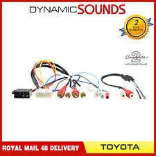 CT20LX01 Car Stereo ISO Wiring Harness Adaptor for Lexus All Models, Toyota MR2