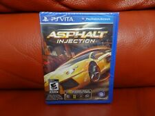 Asphalt: Injection (Sony PlayStation Ps Vita, 2012) New!