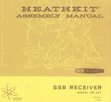 HEATHKIT SB-301 Receiver ASSEMBLY & OPERATION MANUAL 132 page digital Manual