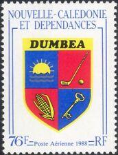 Nueva Caledonia 1988 Dumbea Escudo de Armas/Golf/maíz/KEY/Sol/deportes 1 V (n46106)