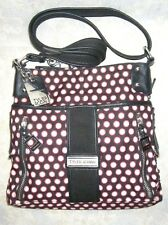 TYLER RODAN Multi Color Polka Dots Crossbody/Shoulder Bag Size S/M