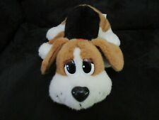 Mattel pp pound puppies black tan white plush doll toy cuddle puppy dog cute