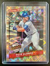2020 Donruss Highlights PETE ALONSO Kaleidoscope Refractor SP /999 New York Mets