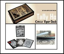 TALLY HO VIPER CIRCLE BACK DECK - 1st Edition Ellusionist UV-500 AIR FLOW