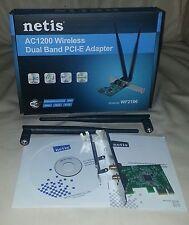 PCI-E /AC1200 (5GHz/867 + 2.4GHz/300) w/Std & Low Profile Brackets + 2x 5dB Ant