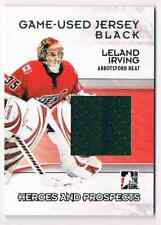 2009-10 HEROES & PROSPECTS GAME-USED JERSEY LELAND IRVING JERSEY 1 COLOR /100 CS