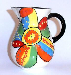 Spanish Ceramic Handpainted Jug 16cm