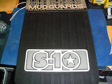 "NEW CHEVY S10 MUD GUARDS 12"" X 18"" FREE SHIPPING"