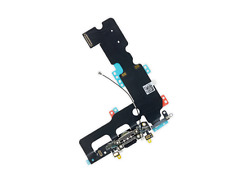 OEM Charging Dock Port Flex Cable with Mic Antenna for iPhone 7 Plus 5.5 Black