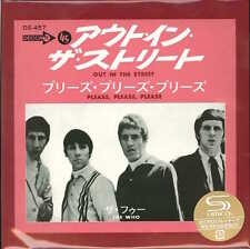 THE WHO-OUT IN THE STREET / PLEASE...-JAPAN 7INCH MINI LP SHM-CD Ltd/Ed D73