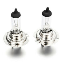2pcs 12V Xenon Bright H7 55W 6000K Gas Halogen Headlight White Light Lamp Bulbs