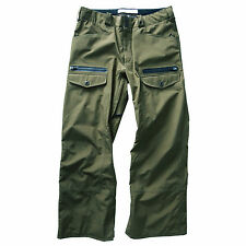 Analog Deploy Gore Tex Snowboard Pant (XL) Military Green