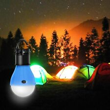 Portable Hanging 3 LED Camping Tent Light Bulb Fishing Lantern Lamp Outdoor Lamp
