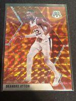 DEANDRE AYTON 2019-20 Mosaic Reactive Orange Prizm Card #138 - Phoenix Suns
