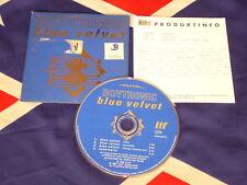 BOYTRONIC - blue velvet  4 trk MAXI CD 1995  cardsleeve & INFO