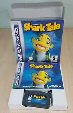 Shark Tale Nintendo Gameboy Advance GBA SP Micro DS Lite Pal Boxed manual