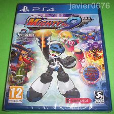 MIGHTY No. 9 - NUEVO Y PRECINTADO PAL ESPAÑA PLAYSTATION 4 PS4