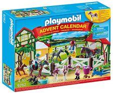 Playmobil 9262. Calendario de Adviento. Granja de caballos. De 4 a 10 años
