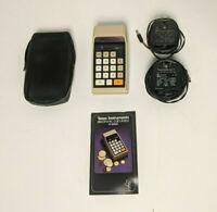 Texas Instruments TI-2500 Calculator [For Parts/Repair]