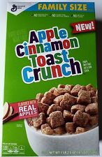 NEW 2017 GENERAL MILLS APPLE CINNAMON TOAST CRUNCH CEREAL FREE WORLD SHIPPING