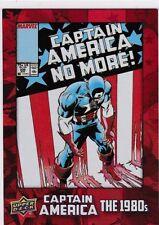 2016 Upper Deck Captain America 75th Anneversary, (Rouge Fleuret) 175, #DEC-37