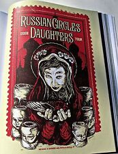 Russian Circles US Concert Tour Poster Reprint for 2005 Philadelphia PA 14x10