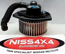 GENUINE NISSAN PATROL Y61 HEATER FAN MOTOR, 1997-CURRENT