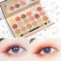 18 Colors Matte Pearlescent Glitter Eye Shadow Pigment Palette Make up Eyeshadow