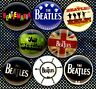The Beatles x 8 NEW 1 inch pins buttons badge beatlemania logos stocking stuffer