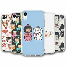 For iPhone XR Silicone Case Cover Japan Collection 1