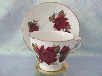 Royal Vale Tea Cup and Saucer - Pattern 7978 - Rose