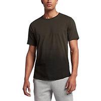 Nike Men's Size Large Jordan Dry Scorch T-Shirt Sequoia/Black 872871-355