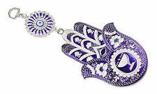 Turkish Blue Evil Eye Hamsa Hand Amulet Wall Hanging Protection Decor