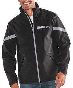 G-III Sports Oakland Raiders Men's Franchise Full Zip Soft Shell Jacket