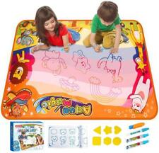 Large Water Drawing Mat, Mess Free Doodle Mat, Girls Boys Age 2 3 4 5+ Toy Gift