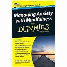 Managing Anxiety with Mindfulness For Dummies by Joelle Jane Marshall (Paperbac…