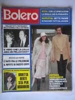 Bolero 1608 Garganese Lollobrigida Taylor Antonioni Buonocore Rascel Streisand