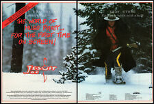 JESUIT JOE__Original 1991 Trade print AD promo / poster__HUGO PRATT__John Walsh
