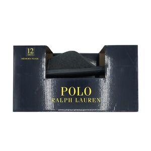 Ralph Lauren Polo Memory Foam Slippers Men's Size 12 Gray- New