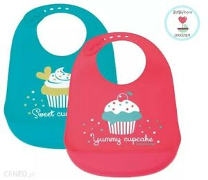 BIB for a baby 2 COLOURS for BOYS and girls CANPOL BABIES 4m+