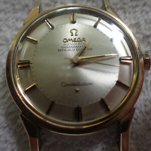 Omega Constellation Chronometer Pie Pan Dial - 1963 - 24 Jewels
