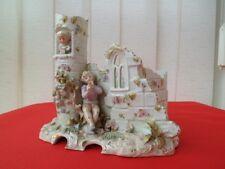 Superbe figurine en porcelaine Allemande porzellan Germany Muller