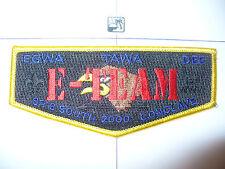 OA Egwa Tawa Dee 129,S-29.5,2000 SR6S Conclave,E, A Team Flap,10 Made,DYL Bdr,GA