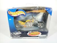 Hot Wheels 1:18 Moto Twin Flame Motorcycle NEW NIB
