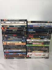 Lot 45 DVD MOVIES Drama Suspense Thriller Comedy Romance Mixed Genre Set Films