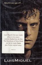 Luis Miguel Nada Es Igual Cassette New Sealed