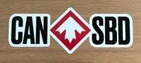 Canada Snowboarding Sticker - Canadian Skiing Snowboard Ski Burton Whistler