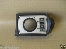 JAGUAR DAIMLER SERIES 2 XJ6 & XJ12 IGNITION SWITCH COVER BEZEL